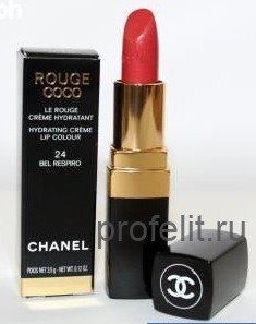 Увлажняющая кремовая помада для губ chanel rouge coco - chanel (франция). интернет-магазин профессиональной салонной косметики \