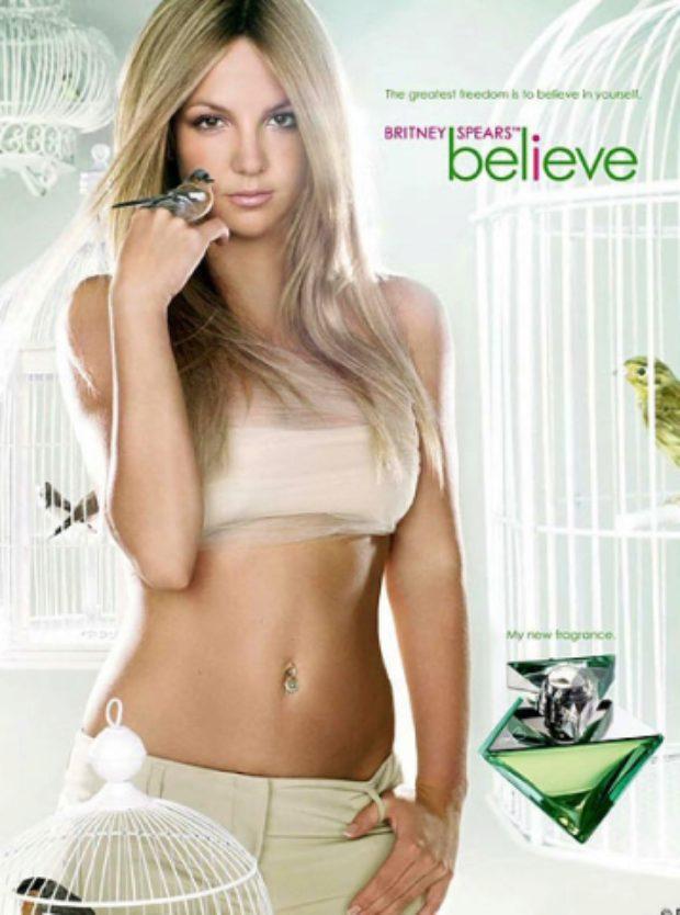 Britney Spears Believe — ELIZABETH ARDEN