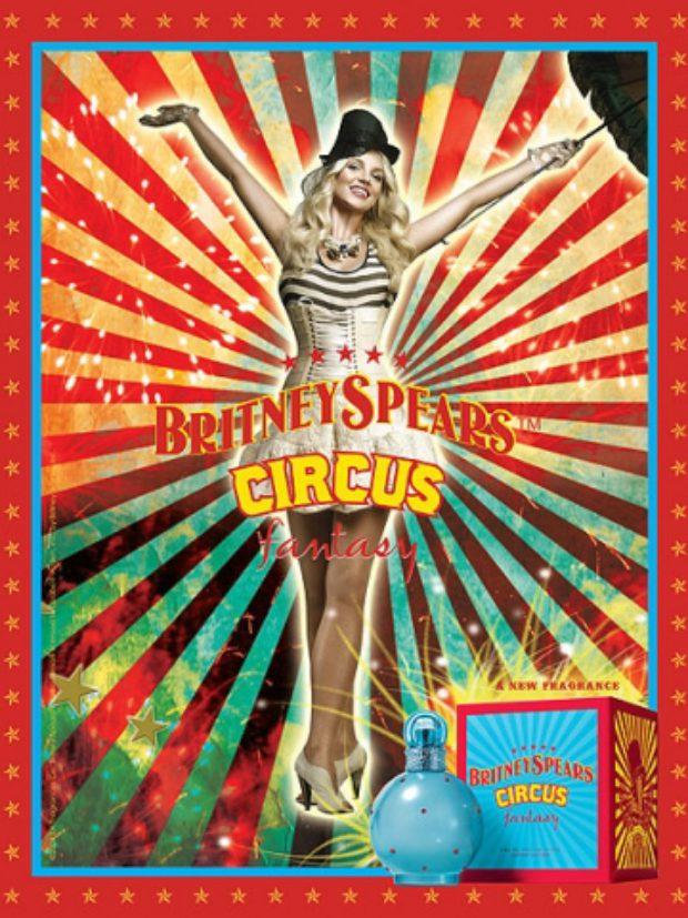 Britney Spears Circus Fantasy — ELIZABETH ARDEN