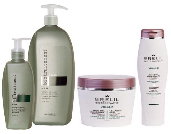 Линия ухода для тонких и ослабленных волос Bio Treatment Volume — BRELIL PROFESSIONAL