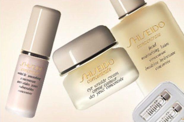 Линия концентрированных косметических средств Shiseido Concentrate — SHISEIDO
