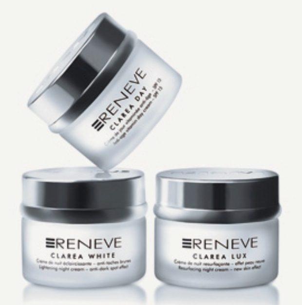 Линия для обновления и осветления кожи CLAREA — RENEVE