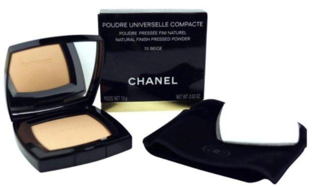 Компактная пудра с эффектом матовой атласной кожи Chanel Poudre Universelle Compacte — CHANEL