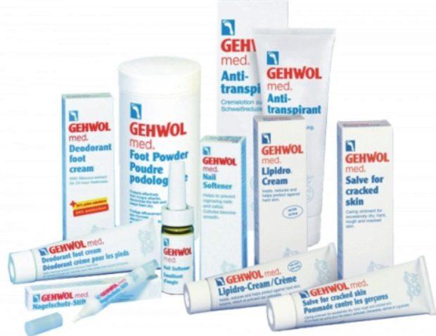 Линия средств для медицинского ухода за стопой GEHWOL MED — GEHWOL