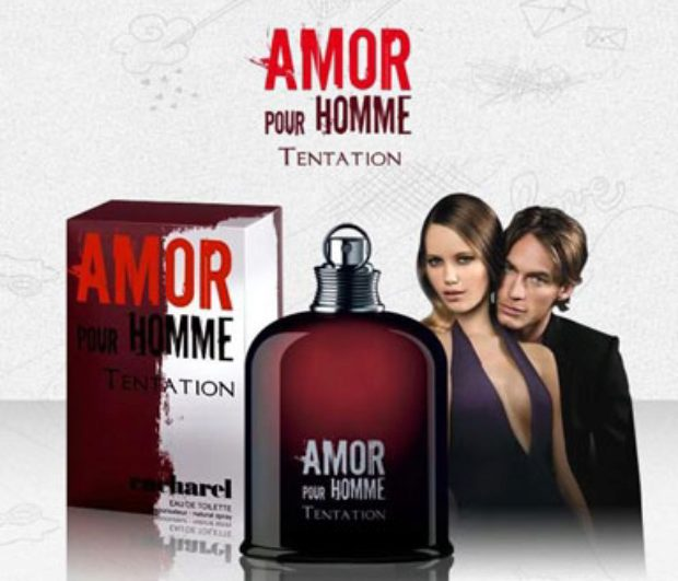 Cacharel Amor Pour Homme Tentation — CACHAREL