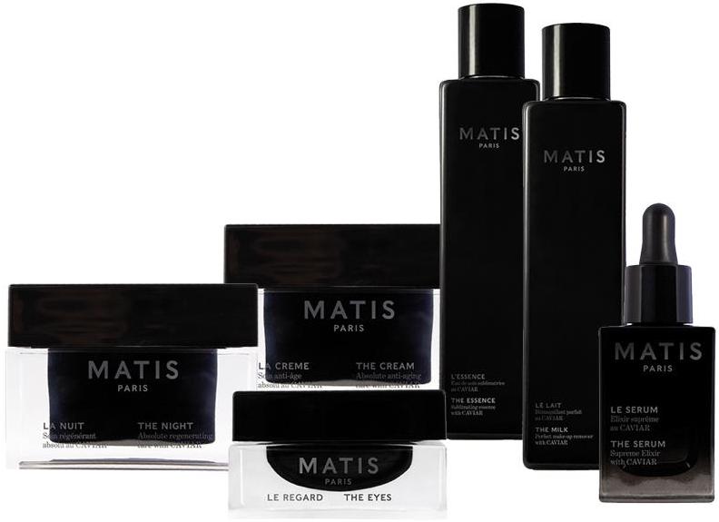 Премиальная линия для лица с экстрактом черной икры MATIS CAVIAR — MATIS