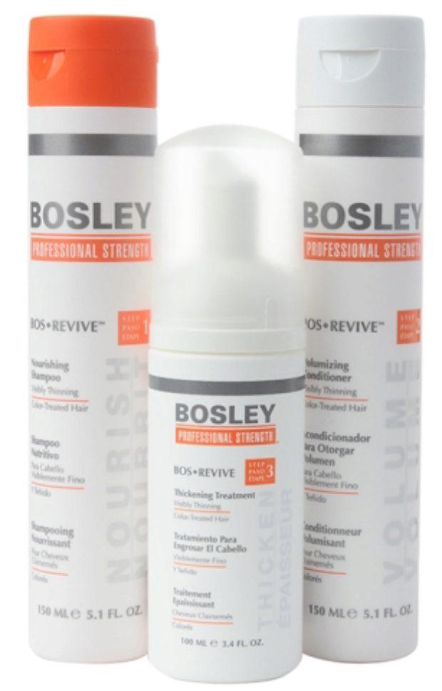Оранжевая линия - Восстановление для истонченных окрашенных волос Bos Revive — BOSLEY PROFESSIONAL STRENGTH