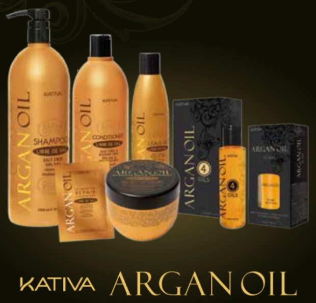 Линия на основе арганового масла для блеска и защиты волос «АРГАНА» — KATIVA