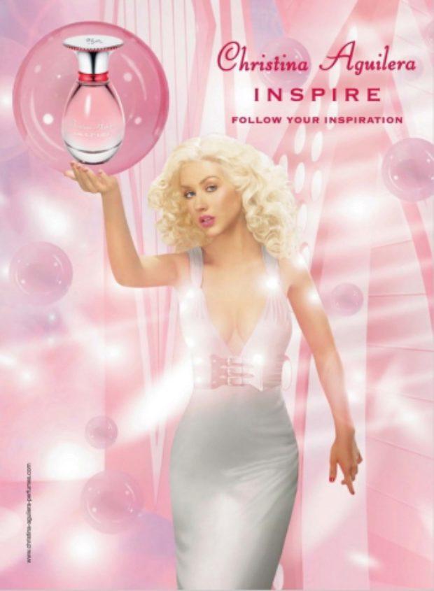 Christina Aguilera Inspire — CHRISTINA AGUILERA