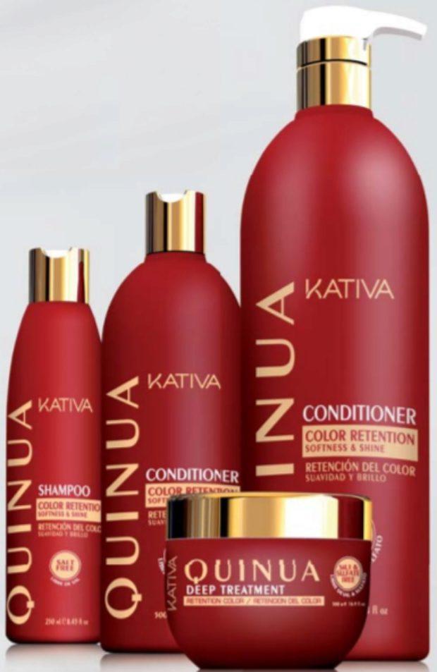 Интенсивная ревитализация волос с экстрактом Киноа QUINUA PRO — KATIVA