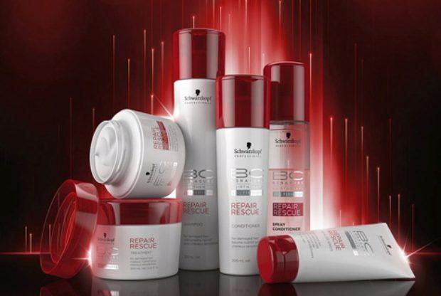 Линия для поврежденных и истощенных волос Спасительное Восстановление Bonacure Repair Rescue — SCHWARZKOPF PROFESSIONAL