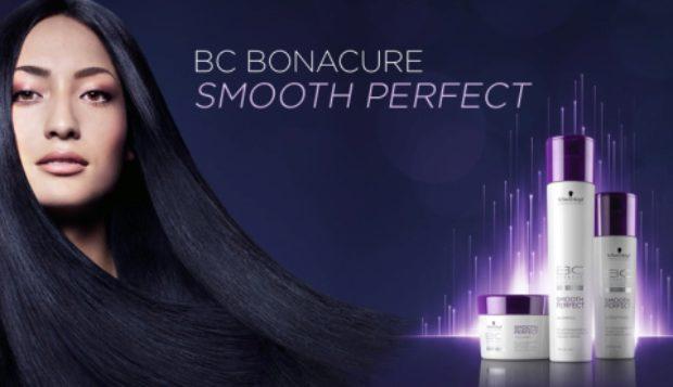 Линия для гладкости и блеска жестких и непослушных волос Bonacure Smooth Perfect — SCHWARZKOPF PROFESSIONAL