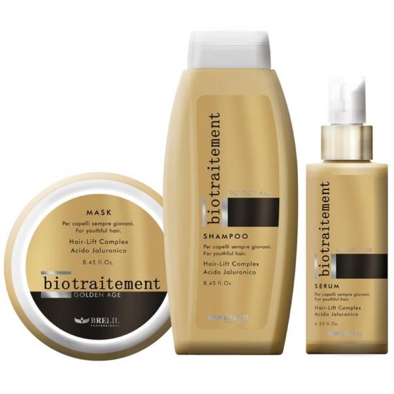 Линия против старения волос - BIO TRAITEMENT GOLDEN AGE — BRELIL PROFESSIONAL