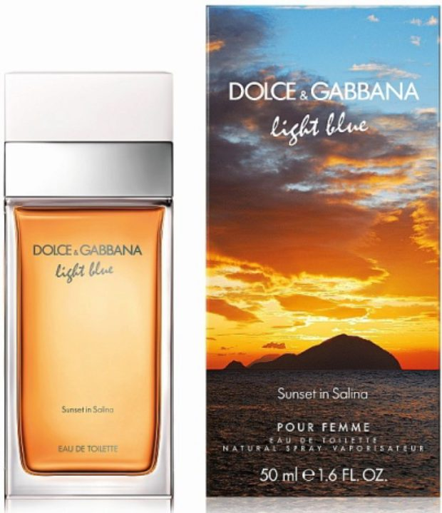 Dolce&Gabbana Light Blue Sunset In Salina — DOLCE&GABBANA