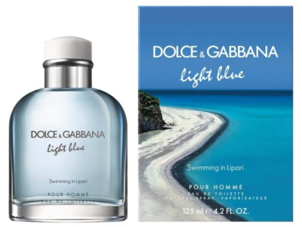 Dolce&Gabbana Light Blue Swimming in Lipari Pour Homme — DOLCE&GABBANA
