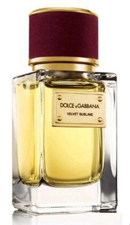 Dolce&Gabbana Velvet Sublime — DOLCE&GABBANA
