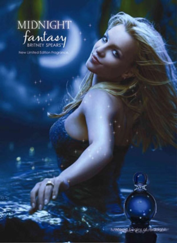 Britney Spears Midnight Fantasy — ELIZABETH ARDEN