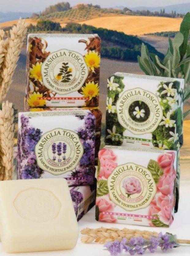 Коллекция мыла Марсель и Тоскана Marsiglia Toscano — NESTI DANTE
