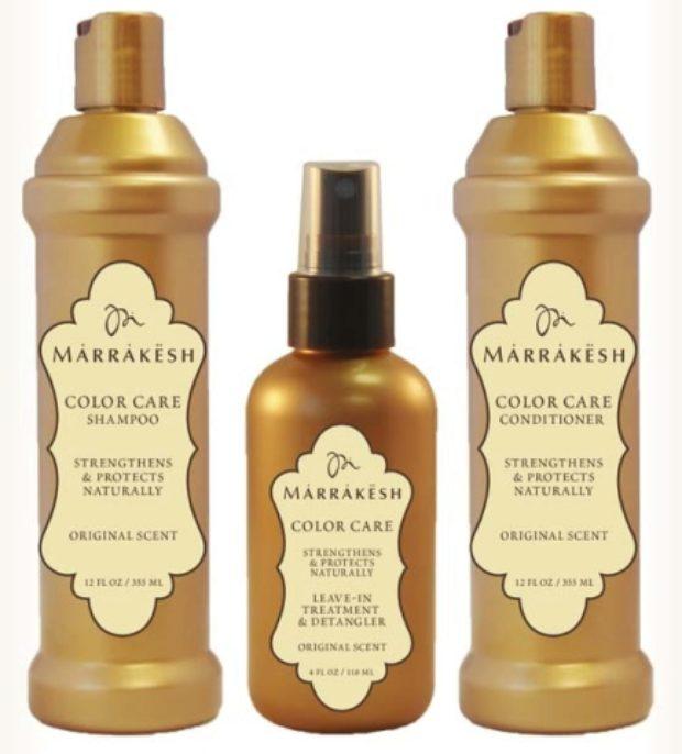 Линия для окрашенных волос с маслом арганы, конопли и подсолнечника COLOR CARE — MARRAKESH