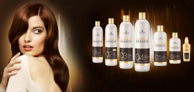 Профессиональная система разглаживания волос с кератином Supreme Keratin — SCHWARZKOPF PROFESSIONAL