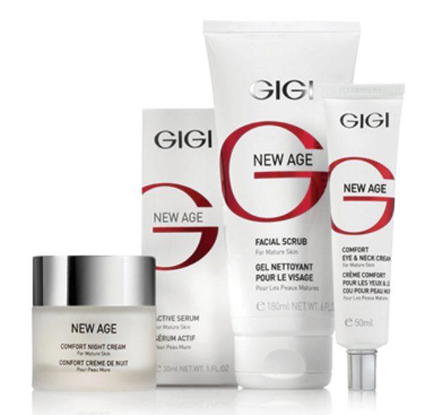 Линия для зрелой кожи 40+ с фитоэстрогенами New Age — GIGI