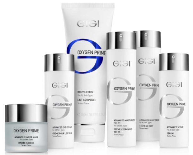 Линия кислородной терапии и ревитализации кожи лица OXYGEN PRIME — GIGI