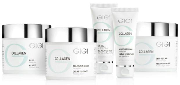 Линия для сухой атоничной кожи с коллагеном и эластином COLLAGEN ELASTIN — GIGI