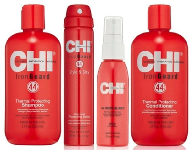 Линия защиты волос при регулярной термоукладке CHI 44 Iron Guard Thermal Protect System — CHI