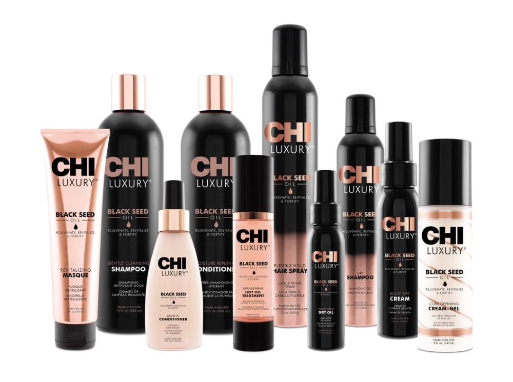Восстанавливающий уход для волос с маслом семян черного тмина CHI LUXURY — CHI