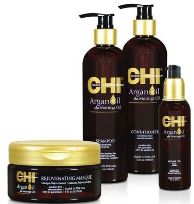Линия на основе масла арганы и моринги CHI Argan Oil — CHI