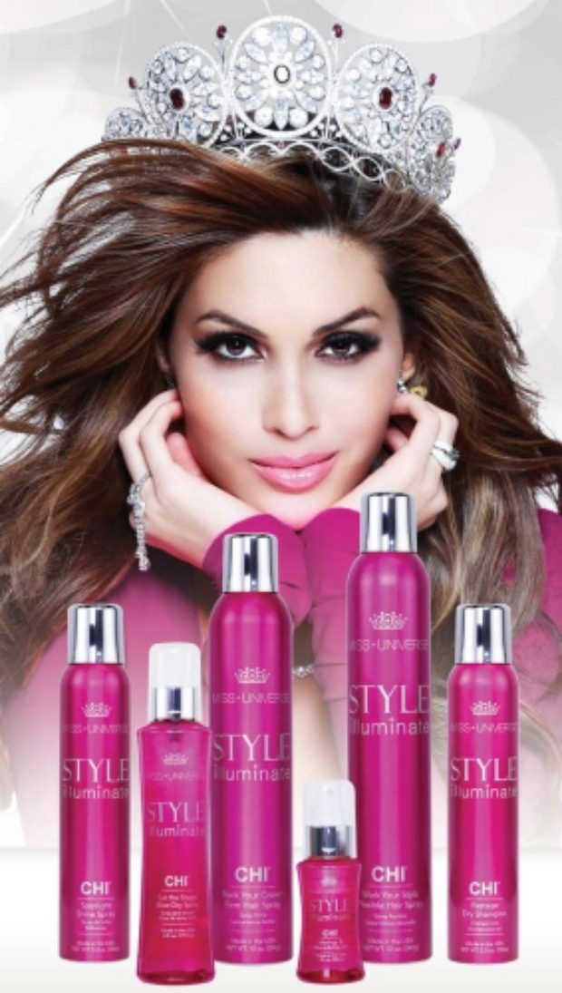 Изысканная линия для волос Мисс Вселенная Сияющий Стиль CHI Miss Universe Style Illuminate — CHI