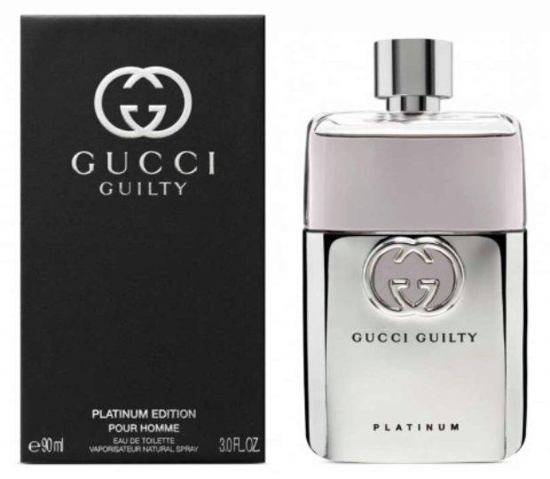 Gucci Guilty Platinum Pour Homme — GUCCI