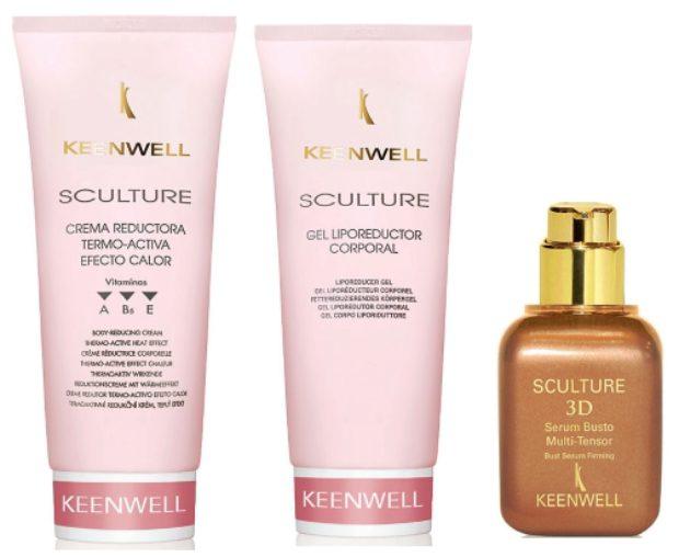 Линия средств для ухода за кожей тела SCULTURE — KEENWELL