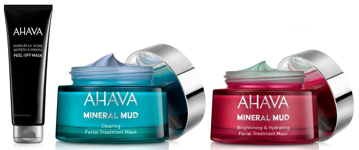 Маски для лица с грязью Мертвого моря Mineral Mud Masks — AHAVA
