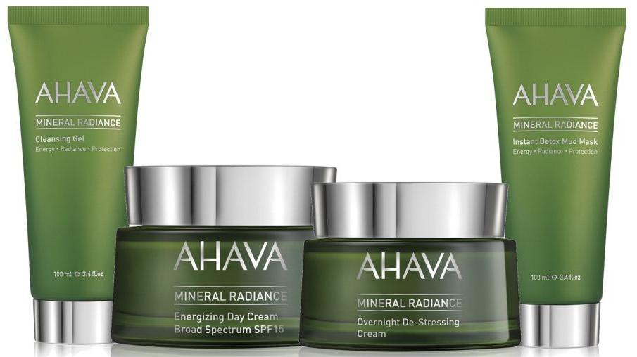 Минеральная линия для сияния кожи Mineral Radiance — AHAVA
