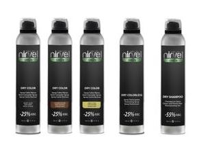 Линия для ухода за волосами, стайлинга и камуфлирования Nirvel Green Dry — NIRVEL PROFESSIONAL