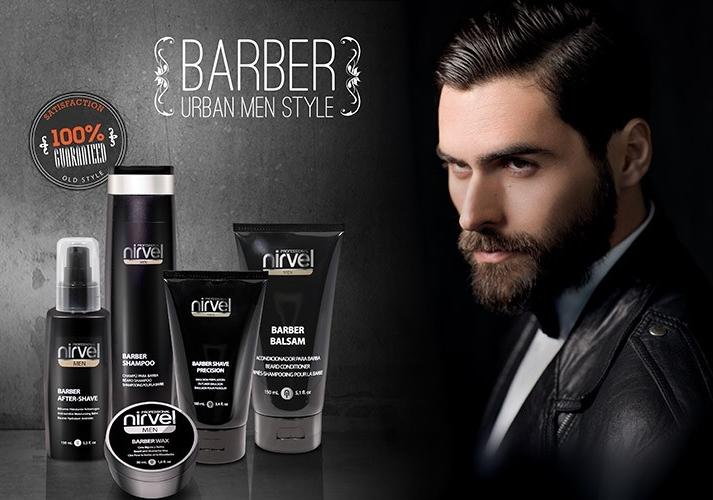 Мужская линия средств для ухода за волосами, бородой и усами BARBER — NIRVEL PROFESSIONAL
