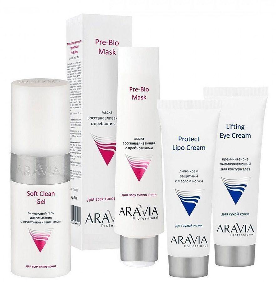 Косметические средства для ухода за кожей лица — ARAVIA
