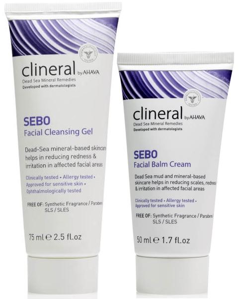 Линия для кожи с себорейным дерматитом Clineral Sebo — CLINERAL BY AHAVA