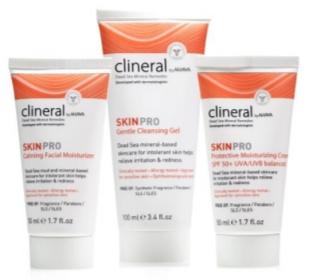 Линия для реактивной чувствительной кожи Clineral Skinpro — CLINERAL BY AHAVA