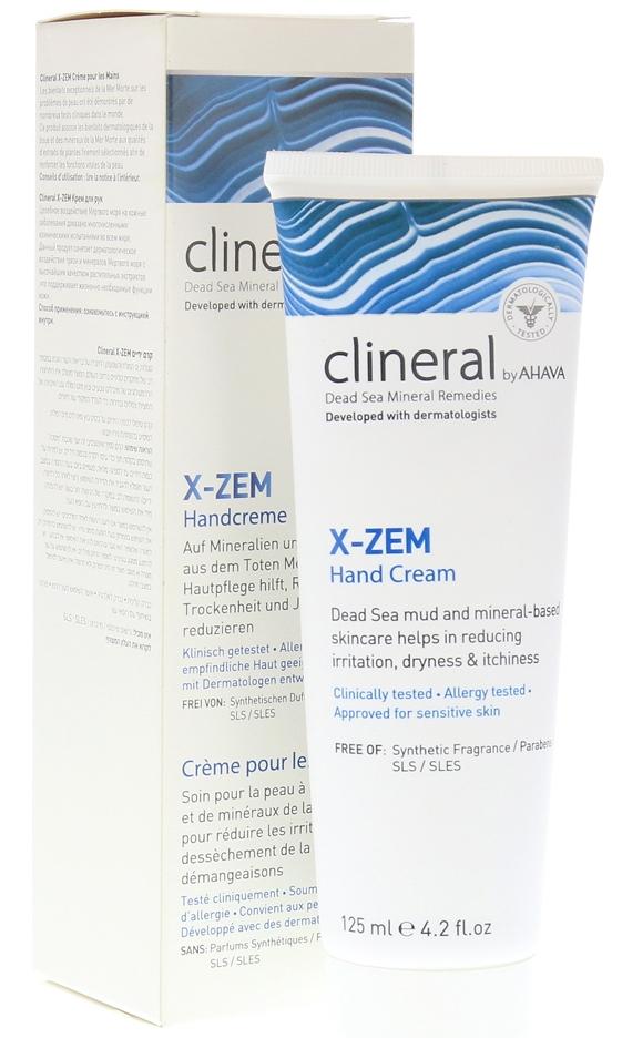 Линия для кожи, склонной к экземе Clineral X-zem — CLINERAL BY AHAVA