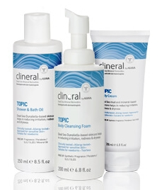 Линия для кожи с атопическим дерматитом Clineral Topic — CLINERAL BY AHAVA
