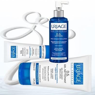 Гамма средств для кожи с себорейным дерматитом Uriage DS — URIAGE