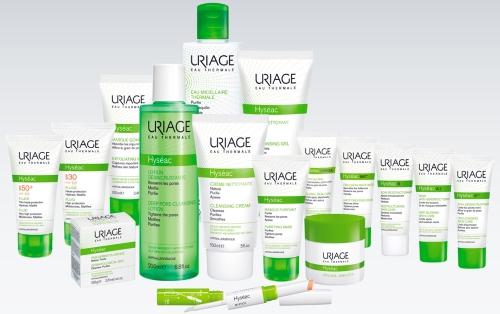 Гамма средств для жирной и комбинированной кожи лица, склонной к акне Hyseac — URIAGE