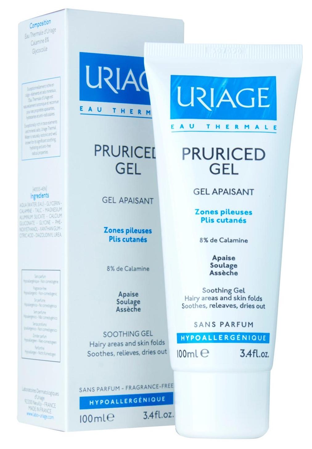Гамма средств для чувствительной и раздраженной кожи взрослых и детей Pruriced — URIAGE