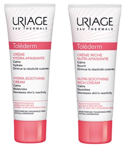 Гамма для чувствительной и реактивной кожи лица Tolederm — URIAGE