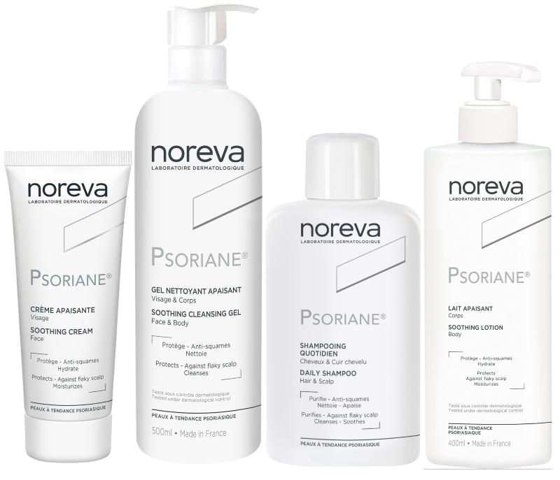 Дерматологическая линия для кожи с признаками псориаза Псориан Psoriane — NOREVA