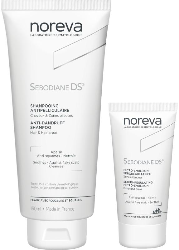Линия для кожи с себорейным дерматитом Себодиан Sebodiane DS — NOREVA