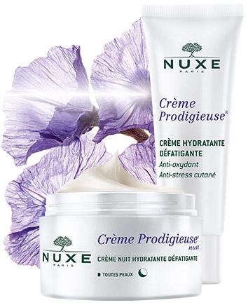 Антиоксидантная и питательная линия Creme Prodigieuse — NUXE