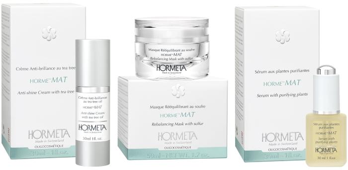 Матирующая линия для жирной кожи лица HORME MAT — HORMETA